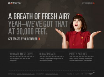 screenshot du site : Dotvita